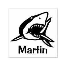 Simply Icons / Image - SHARK   ideas Self-inking Stamp