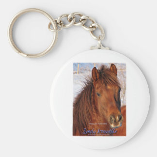 Simply Irresistible Rescue Horse Burrito Keychain