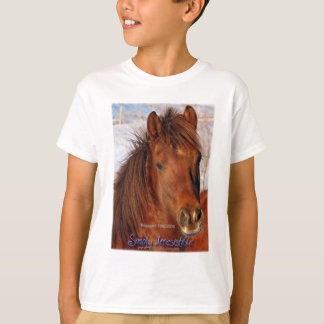 Simply Irresistible Rescue Horse Burrito T-Shirt