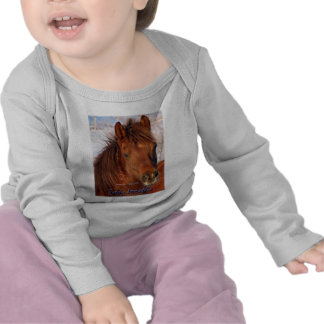 Simply Irresistible Rescue Horse Burrito T Shirts