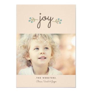 Simply Joy Holiday Photo Card | Vanilla