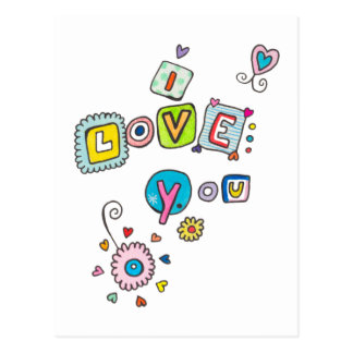 Simply Love Postcard