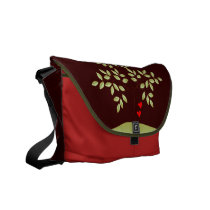 Simply Love Tree of Life Messenger Bag