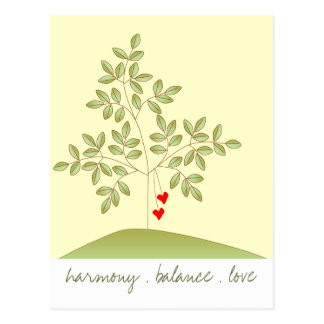 Simply Love Tree Postcard