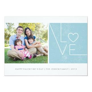 Simply Love Valentine's Day Card - Sky