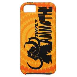 Simply Mammoth iPhone Case