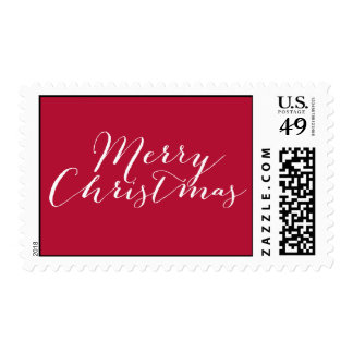 Simply Merry Holiday/ Christmas Postage Postage Stamps