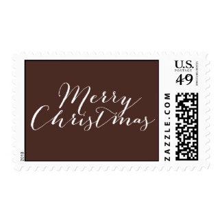 Simply Merry Holiday/ Christmas Postage Stamps