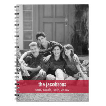 Simply Modern Band Personalized Notebook