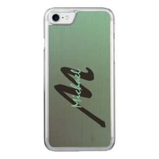 Simply Monogrammed Carved iPhone 7 Case