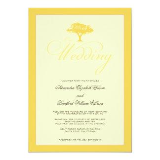 Simply Nature Lemon Tree Formal Wedding Invitation