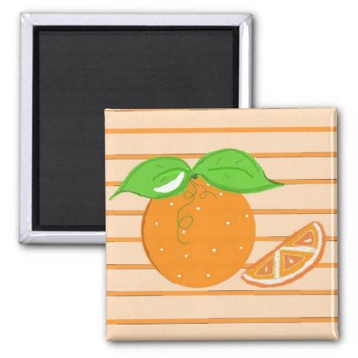 Simply Oranges Fridge Magnet