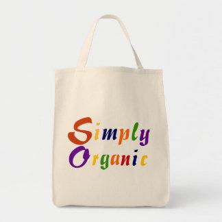 Simply Organic Grocery Tote Bag