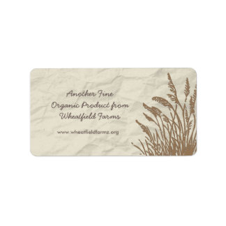 Simply Organic Business Product Label Address Label
