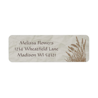 Simply Organic Wheatgrass Custom Personalized Label
