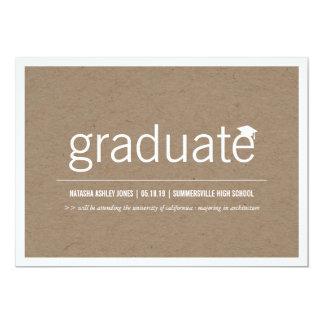 Simply Paper Modern Graduate Graduation Photo Cards