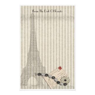 Simply Paris Customized Stationery