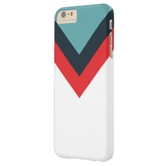 Simply Pattern Red Blue White Barely There iPhone 6 Plus Case