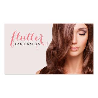Simply Pink Lash Salon Photo Business Card
