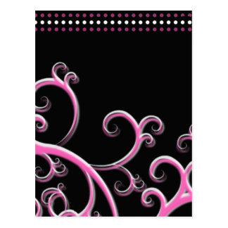 Simply Pink Postcard