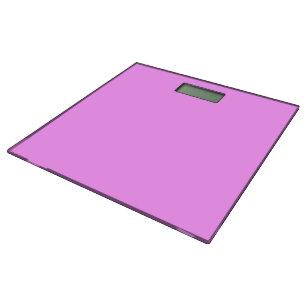 Simply Pink Solid Color Bathroom Scale