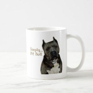 Simply PitBull Classic White Coffee Mug