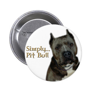 Simply PitBull Pinback Button