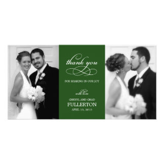 Simply Pretty Wedding Thank You Photo Cards Photo Card