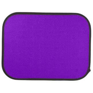 Simply Purple Solid Color Car Floor Mat