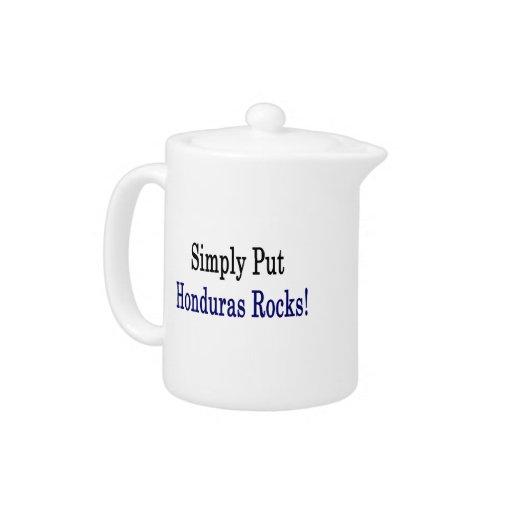 Simply Put Honduras Rocks