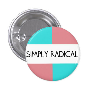 Simply Radical Round Button