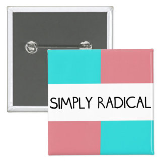 Simply Radical Square Button