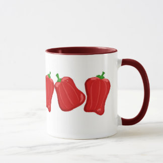 Simply Red Peppers Mug