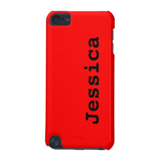 Simply Red Solid Color iPod Touch (5th Generation) Cover