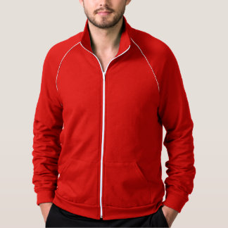 Simply Red Solid Color Jacket