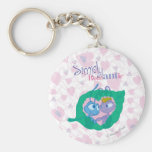 Simply Romantic Keychains
