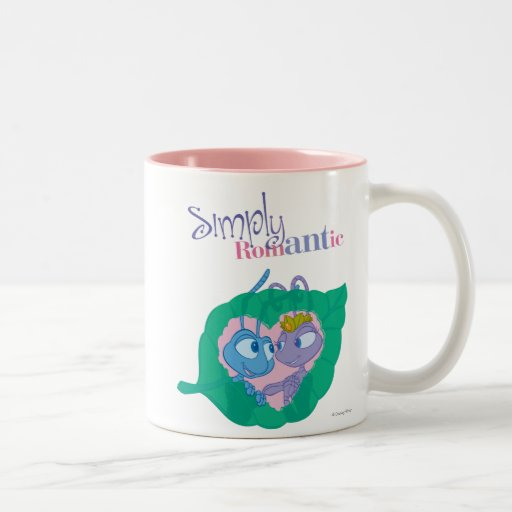 Simply Romantic Two-Tone Coffee Mug