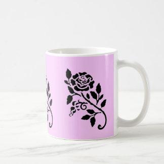 Simply Roses Classic White Coffee Mug