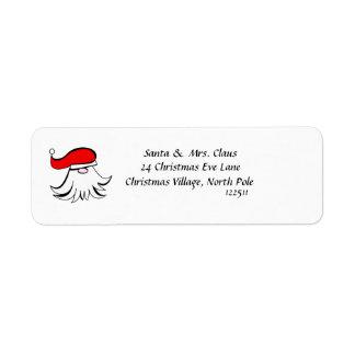 Simply Santa Label
