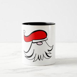 Simply Santa Two-Tone Coffee Mug