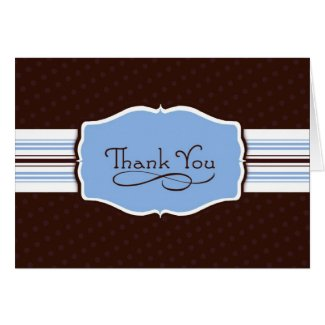 Simply Sent Thank You Card