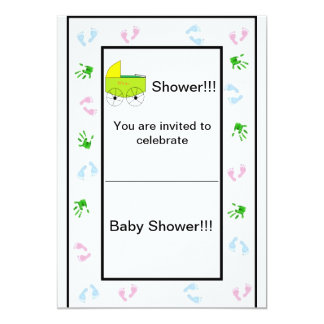 Simply Sheek Baby Shower Invite