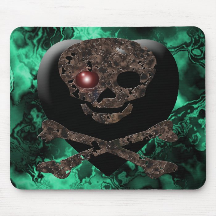 Simply Skulls Mouse Pad