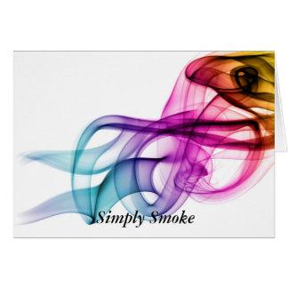 Simply Smoke Card