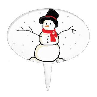 Simply Snowman Cake Topper
