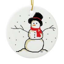 Simply Snowman Ornament