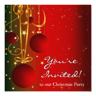 Simply Square Holiday Invitation