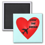 Simply Stated 2 Inch Square Magnet