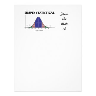 Simply Statistical (Bell Curve Attitude) Letterhead