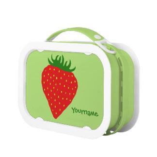 Simply Strawberry custom lunch box